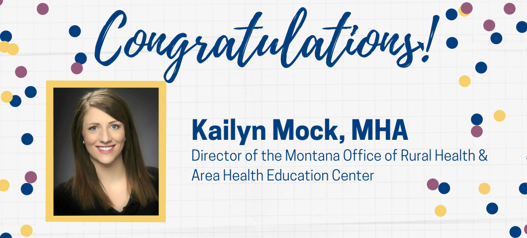 Click to read the announcement for the new Director of MORH/AHEC!