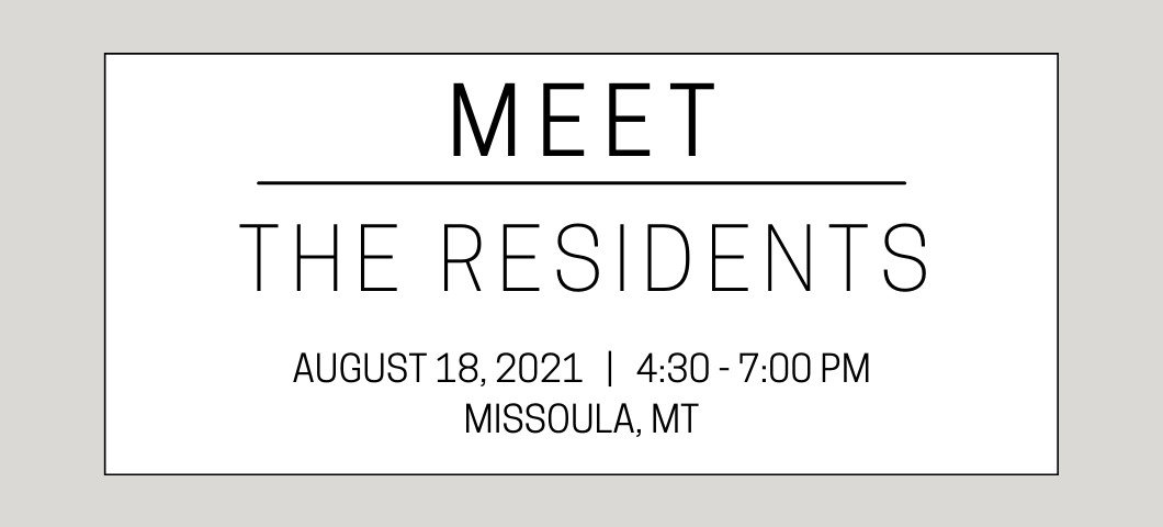 Register for Meet the Residents today!